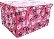 Wholesale Waterproof Non-woven Fabric Decorative Storage Boxes Laundry Bin / Clothing Basket from china suppliers