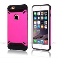 Buy cheap PU leather cases for iphone,for iphone 6 plus,two-in-one matte PU printing+TPU,anti-shock,factory from wholesalers