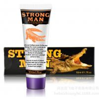 Wholesale Strong Man Male Delay Cream To Help Men Enlarge Penis Size, 50ml Strong Man Enlargement Cream For Men from china suppliers