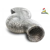 Quality Hydroponics ventilation single or double layer aluminum foils/ polyester flexible duct for sale