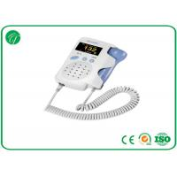 Wholesale Baby Sound Handheld Fetal Doppler , Baby Heart Doppler For Routine Examination from china suppliers