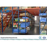 Wholesale Pallet Mezzanine Floor Racking System Q235B Cold Roll Steel Large Load Capacity from china suppliers