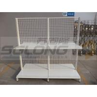 Wholesale Cash Counter Shelf End Cap Supermarket Gondola Shelving 30KG - 50KG Capability from china suppliers