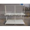 Buy cheap Cash Counter Shelf End Cap Supermarket Gondola Shelving 30KG - 50KG Capability from wholesalers