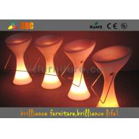 Wholesale Bar Glow Chair With Built-In Rechargeable Battery And RGB Light from china suppliers