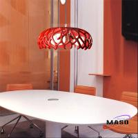 Wholesale Maso Coral Home resin pendant light Residential Lighting Application Three Lamps from china suppliers