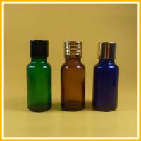 Buy cheap Transparent Brown Glass Essential Oil Bottles / Glass Dropper Bottles from wholesalers