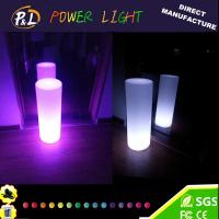 Wholesale Plastic home decorative led cylinder lamp from china suppliers