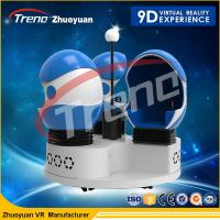 Wholesale Multiple Movies 9D Virtual Reality Cinema Game Simulator For Different Ages from china suppliers