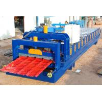 Wholesale Steel Roof Glazed Tile Roofing Sheet Forming Machine With 18 Forming Stations from china suppliers