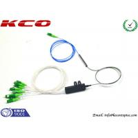 Wholesale Blockless 0.9 mm Fiber Optic Splitter 1X8 Un-connectorized With Fan Out Kits from china suppliers