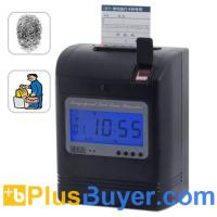 Wholesale Attendance Recorder - Time Card + Fingerprint Verification from china suppliers