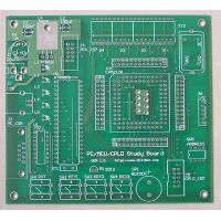 Wholesale Advanced Teflon Quick Turn PCB Prototypes Computer Circuit Board Printer 3 Mil Line Width from china suppliers