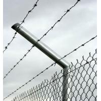 Quality Decorative chain link wire fencing 9 gauge galvanized for sale
