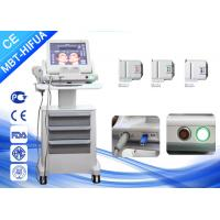 Wholesale Vertical 8mm 13mm Smas Ultrasound HIFU Machine , Face Lift High Intensity Beauty Clinic Machine from china suppliers