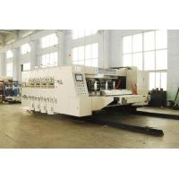 Wholesale Alloy Steel Automatic Corrugated Box Making Machine , Steady Printing from china suppliers