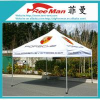 Portable Black 10x10 Folding Canopy Tent With Aluminium Alloy Frame
