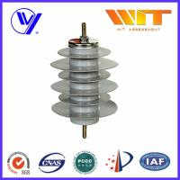 Wholesale 15KV Polymer Metal Oxide Gapless Surge Arrester Gray Color with KEMA from china suppliers