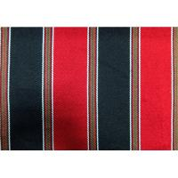 Wholesale 270GSM Sadu Black And Red Striped Fabric For Arabic Floor Sofa from china suppliers