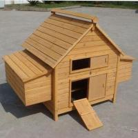 Wholesale Chicken Houses, Timber Chicken House/Coop with Adjustable Plastic Feet and Removable Metal Tray from china suppliers