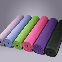 Wholesale Comfortable Safety PVC Yoga Mats 24 x 68 , Environmentally Friendly from china suppliers