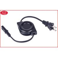 Quality USA National 2 pins to Figure 8 Plug retractable electrical cable for printer for sale