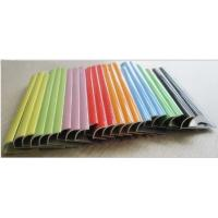 Wholesale tile trim/ colorful Aluminium tile trim/ building material from china suppliers