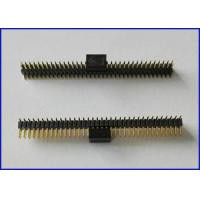 Wholesale Pitch 1.27mm 2*36P LCP Female socket header 3.0 Connector Black Gold-plated from china suppliers