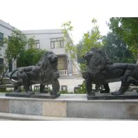 Wholesale Black marble lions sculpture from china suppliers