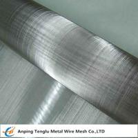 China Stainless Steel Wire Cloth|By AISI201/304/316/430 from 1x1To 635X635mesh on sale