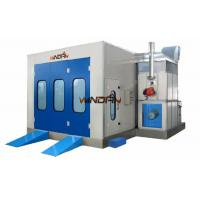 Wholesale Heat Spraying Side Draft Paint Booth WD-100II Direct Drive Motor 2 Rows from china suppliers