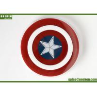 Wholesale Captain America 2A Qi Wireless Charging Pad For Cell Phones 18 * 97mm from china suppliers
