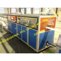 Wholesale PVC Profile Production Line 100-300mm Plastic Ceiling Machine with Automatic Feeding System from china suppliers