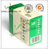 Quality Recycled Medicine Packaging Box With Barcode White Color Glossy Finished for sale