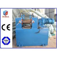 Wholesale Lab Plastic Rubber Mixing Machine Two Roll Mill XK-160 High Power Utilization from china suppliers
