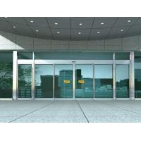 Wholesale Aluminum Sliding Automatic Glass Door With 10mm Clear Tempered Glass from china suppliers