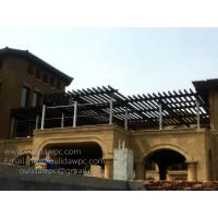 Wholesale large size WPC pergola projects:DIY Pergulas,prefabricated covers,customized pergola design from china suppliers