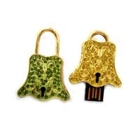 Wholesale Portable Fashion Jewel Bell Branded USB Flash Drives SUP47 With Large Capacity, OEM from china suppliers