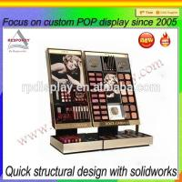 Wholesale POP retail store acrylic countertop makeup display stand from china suppliers