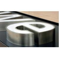 Wholesale stainless steel illuminated letter custom outdoor signs letter free design acrylic plastic letter from china suppliers