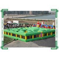 Wholesale Children Inflatable Sport Games , Waterproof Inflatable Maze Court from china suppliers