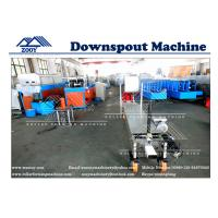 Wholesale PPGI Sheet Portable Dowspout  Rollformer Machine With Hand Operated Shear from china suppliers
