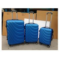 3 Pcs Luggage Travel Set Bag ABS Trolley Suitcase With 4 Double 360 Degree Rotating Wheels