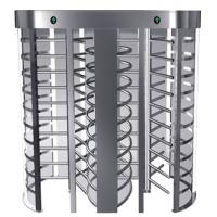Wholesale Indoor One-way Direction Full Height Turnstile with Stainless Steel Tube for Bus Station from china suppliers