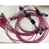 Wholesale Multi mode Plastic Mpo - Lc Fiber Optic Patch Cables For Network from china suppliers