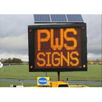Wholesale Full Color Outdoor LED Traffic Display Solar Powered VMS Control from china suppliers