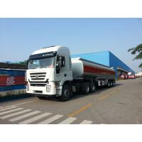 Wholesale 35000L-3 axles-Carbon Steel Monoblock Tanker Semi-Trailer for Fuel and Water from china suppliers