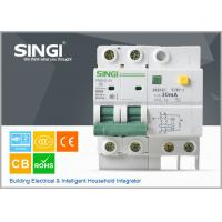 Wholesale SG65LE-63 10A  2P Singi Residual - current mini electrical circuit breaker 1P  2P 3P 4P from china suppliers