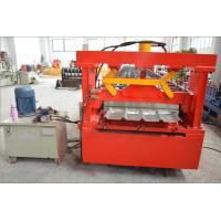 Wholesale Thick Galvanized Steel Roof Panel Roll Forming Machine with Chain Driving System from china suppliers