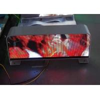 Quality P5 Digital SMD Full Color Taxi Led Display For Car , Super Clear Vision for sale